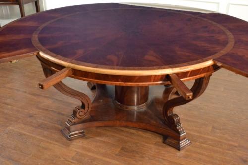 LH-21 (Round Perimeter Leaf Round Dining Table) | Leighton ...