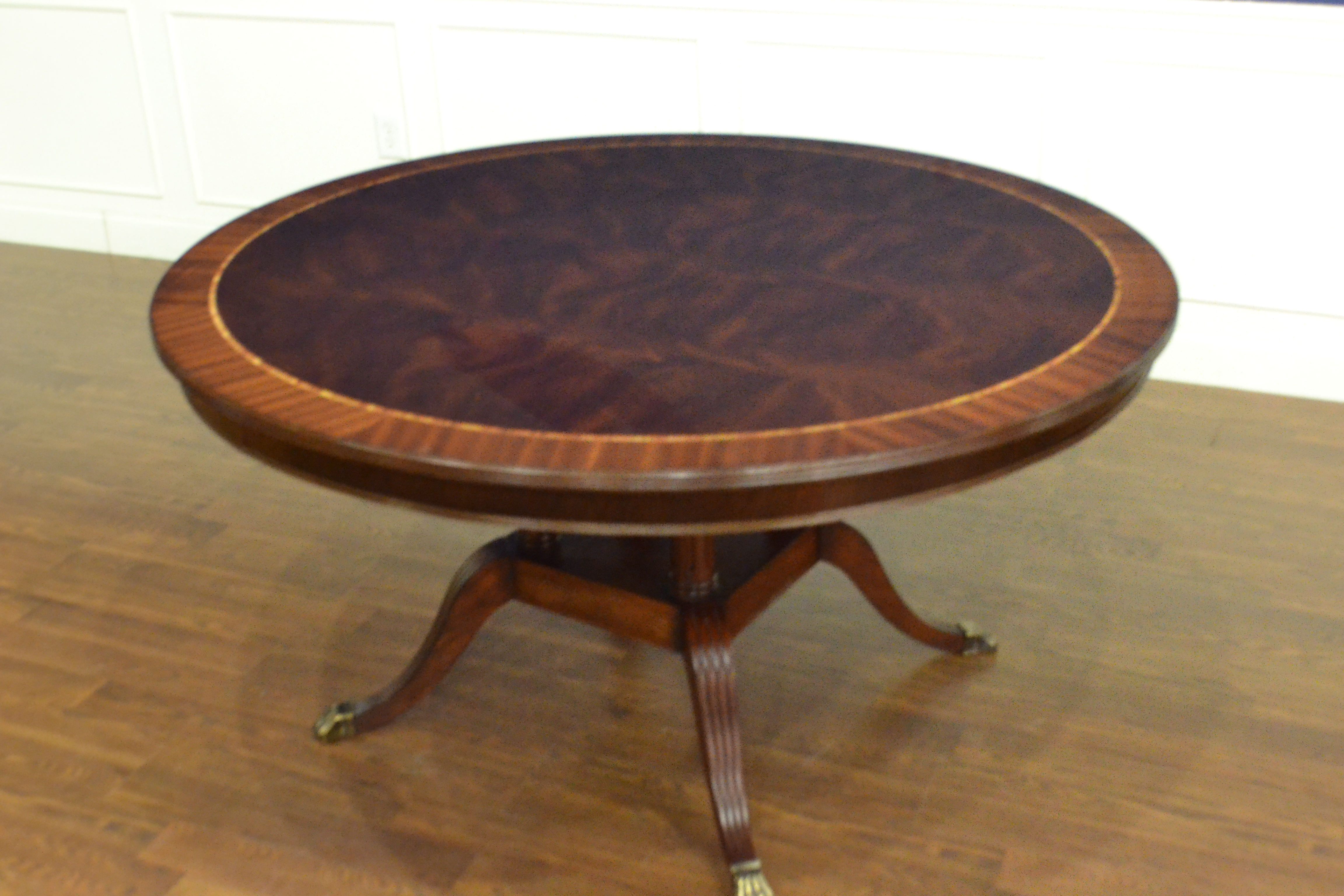 Lh 61 Round Dining Table Leighton Hall Furniture